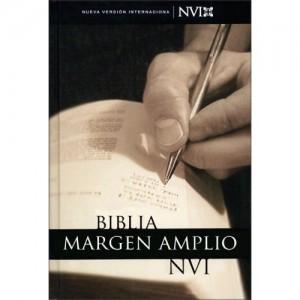 Esta Biblia tiene márgenes amplios para hacer anotaciones.