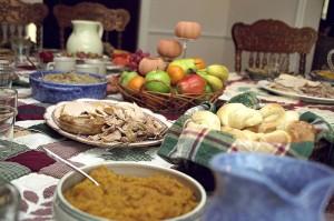Comida día de acción de gracias