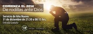 De rodillas ante Dios