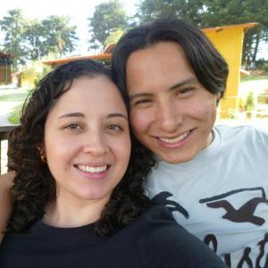 Sakis y Leslie González