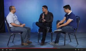 El Pastor Alex López y Josh y Luis Morales de Miel San Marcos