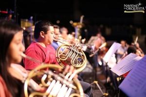 Ensayo Navidad en Orquesta